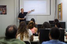 Impartición clase en aula