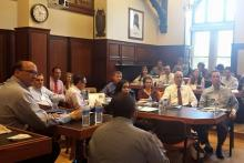Alumnos del Executive Program en las Aulas de Georgetown