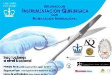 Único diplomado de Instrumentación Quirúrgica titulado por el Ministerio del poder popular para la Salud de la República Bolivariana de Venezuela con Acreditación Internacional
