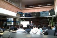 21 Trading Coach en el Business Center en la Universidad de La Sabana