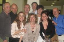 Mayte Galiana y Marcel Genestar, junto a otros colegas participantes en el II Congreso Español de PNL