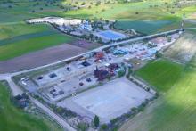 Vista aérea del Centro de Formación.
