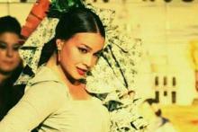 Flamenca donde las haya Paula Rodriguez