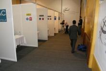 Los recién titulados participan en el workshop que se organiza todos los años con la presencia de cadenas hoteleras