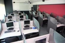 Centro de Barcelona: aula informática