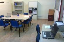 Centro de Fraga: Sala de profesores