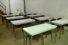 Centro de Fraga: aula auxiliar SOLDADURA