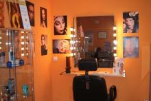 Sala de maquillaje