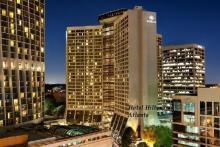 Hotel Hilton en Atlanta, uno de los lugares donde los alumnos realizan sus prácticas en EEUU.