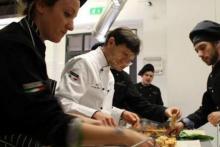 A Chef Teaching!