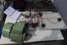 esquema eléctrico por contactores