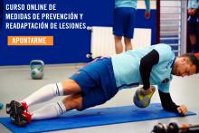 Prevención y readaptación de lesiones en el fútbol