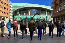 Visita Académica Palacio de los Deportes Madrid Máster Gestión Deportiva
