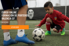 Formación para Porteros Fútbol Base Valencia CF