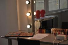 Aula de aerografía en Stylestudio MAKE UP escuela de maquillaje profesional en madrid