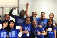 Alumnos del Máster Microsoft MCSD 2016-2017