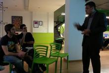 Carmelo Sierra Sierra, director de consultoría de Quantumbcn con muchos años de experiencia explicando la gestión del tiempo.