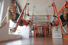 Estudio de Yoga Aereo
