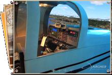 Simulador de vuelo en ARCHER - Entrenamiento Aeronáutico - www.grupoarcher.com