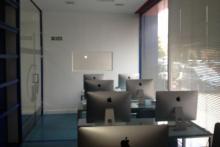 Aula iMAC APPLE primera autoescuela en España en implantar iMAC a su aula
