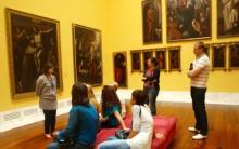 sesión en el museo de bellas artes de Valencia