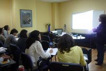Aula de formación en Psicología Clínica Cinteco