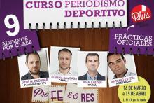 Cartel Curso Periodismo Deportivo 2015