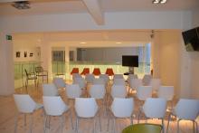 Sala Open Talk, centro Open Talk