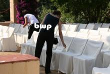Staff en una boda organizada por bcn wedding planners