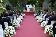 Ceremonia organizada por bcn wedding planners