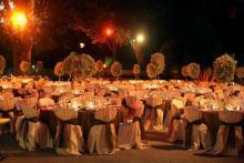 Banquete organizado por bcn wedding planners