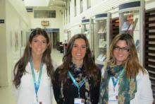 Alumnas de Albaydar realizando sus prácticas en la Universidad de Cambridge
