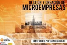Certificado Profesionalidad Online Gestión y Creación de Microempresas Adalid