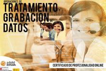 Certificado Profesionalidad Online Operaciones de Tratamiento y Grabación de Datos Adalid