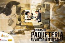 Curso presencial en Madrid Paquetería Envoltorio de Regalos Adalid Formación