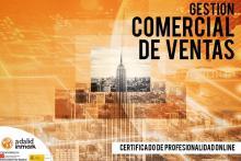 Certificado Profesionalidad Online Gestión Comercial Ventas Adalid