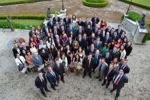 Promoción Másters 2011-2012 de la Escuela de Negocios IFFE Business School en Oleiros, A Coruña, Galicia