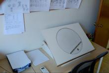 Mesa de luz de animación tradicional 2D