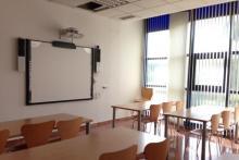 Una de nuestras aulas.