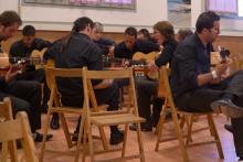 ALUMNOS DE GUITARRA FLAMENCA DE LA ESCUELA JUANMANUEL ÁVILA