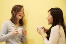 Coffee time at Cronopios Idiomas