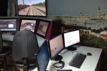 Simulador propio en la sede del Centro Europeo de Formación Ferroviaria - CEFF